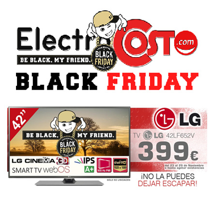 black friday en televisión